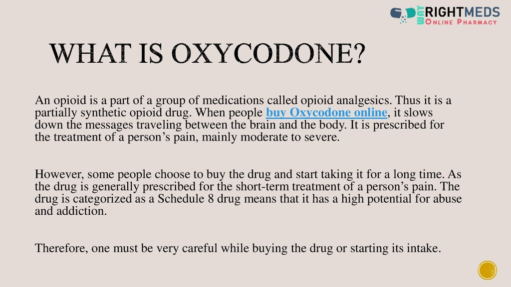 An opioid is a part of a group of medications c...