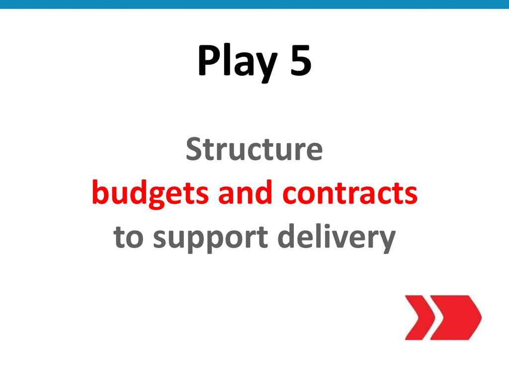 Play 5 Structure   budgets and c...