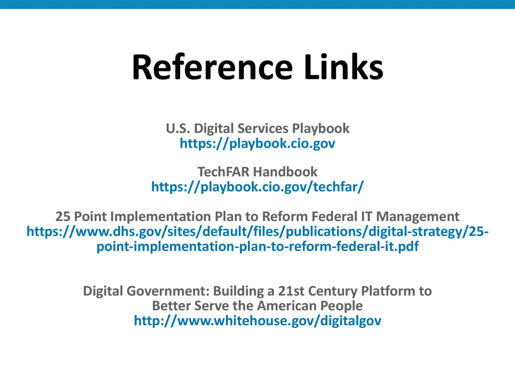 Reference Links ! U.S. Digital Service...