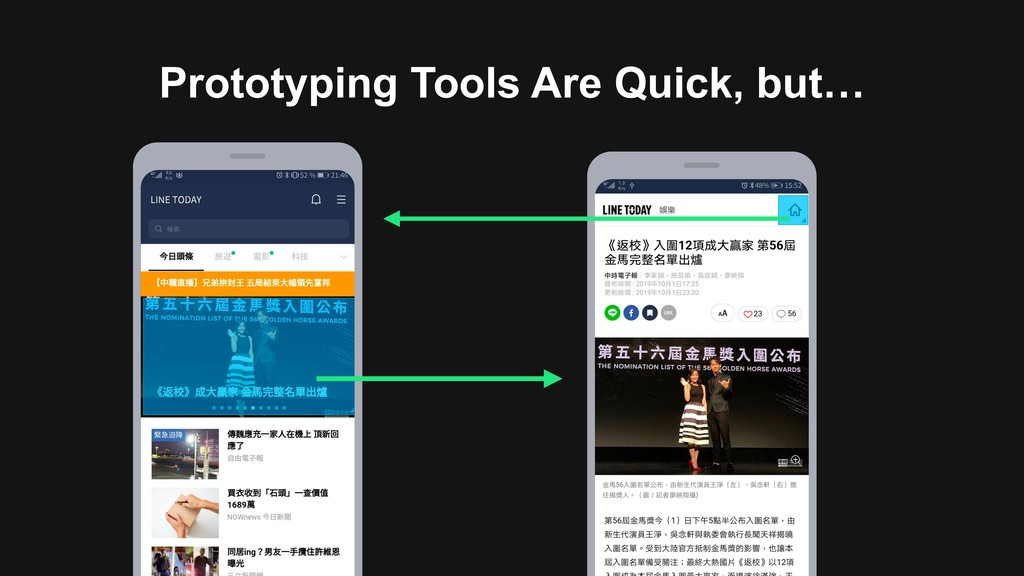 Prototyping Tools Are Quick, but…