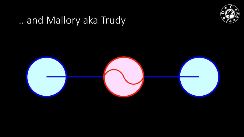 .. and Mallory aka Trudy