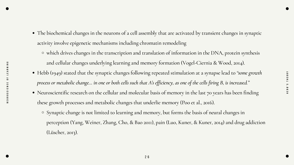 2 6 The biochemical changes in the neurons of a...