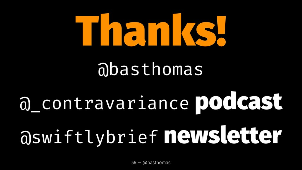 Thanks! @basthomas @_contravariance podcast @sw...