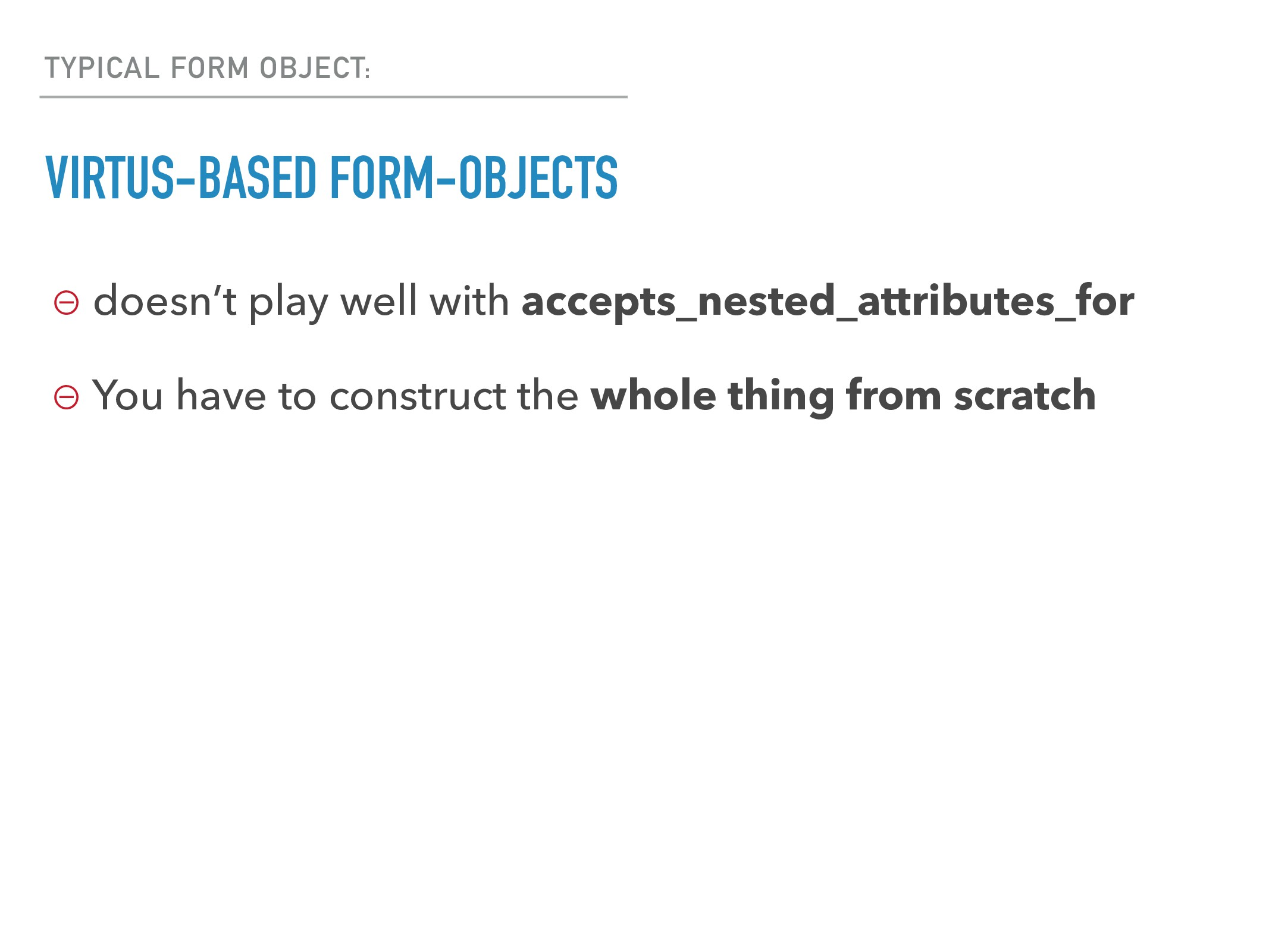 TYPICAL FORM OBJECT: VIRTUS-BASED FORM-OBJECTS ...