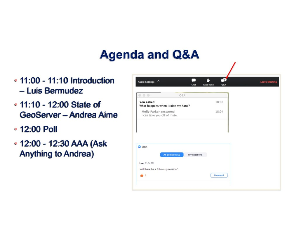 Agenda and Q&A • 11:00 - 11:10 Introduction – L...