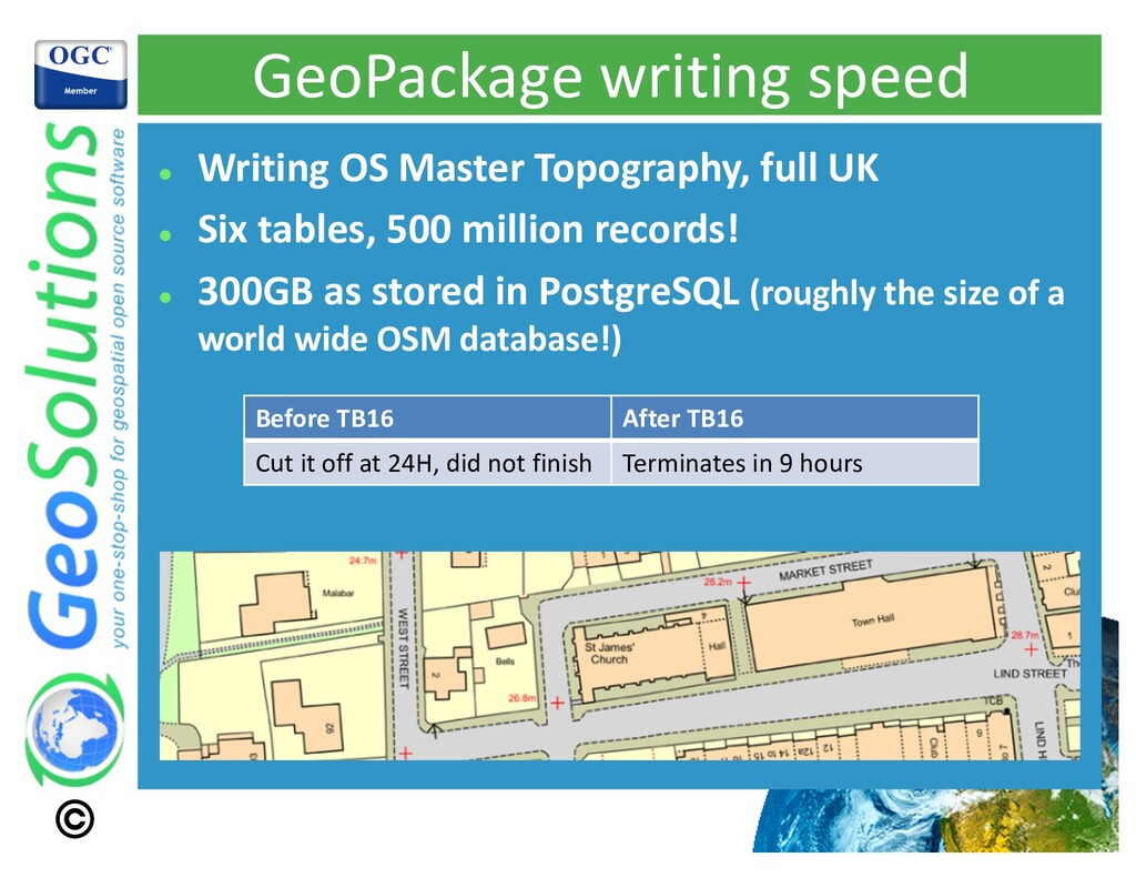 GeoPackage writing speed l Writing OS Master To...