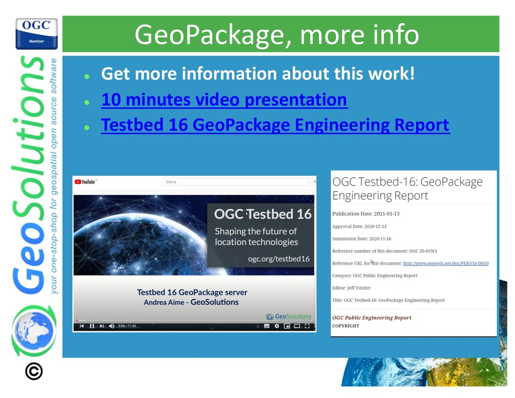 GeoPackage, more info l Get more information ab...