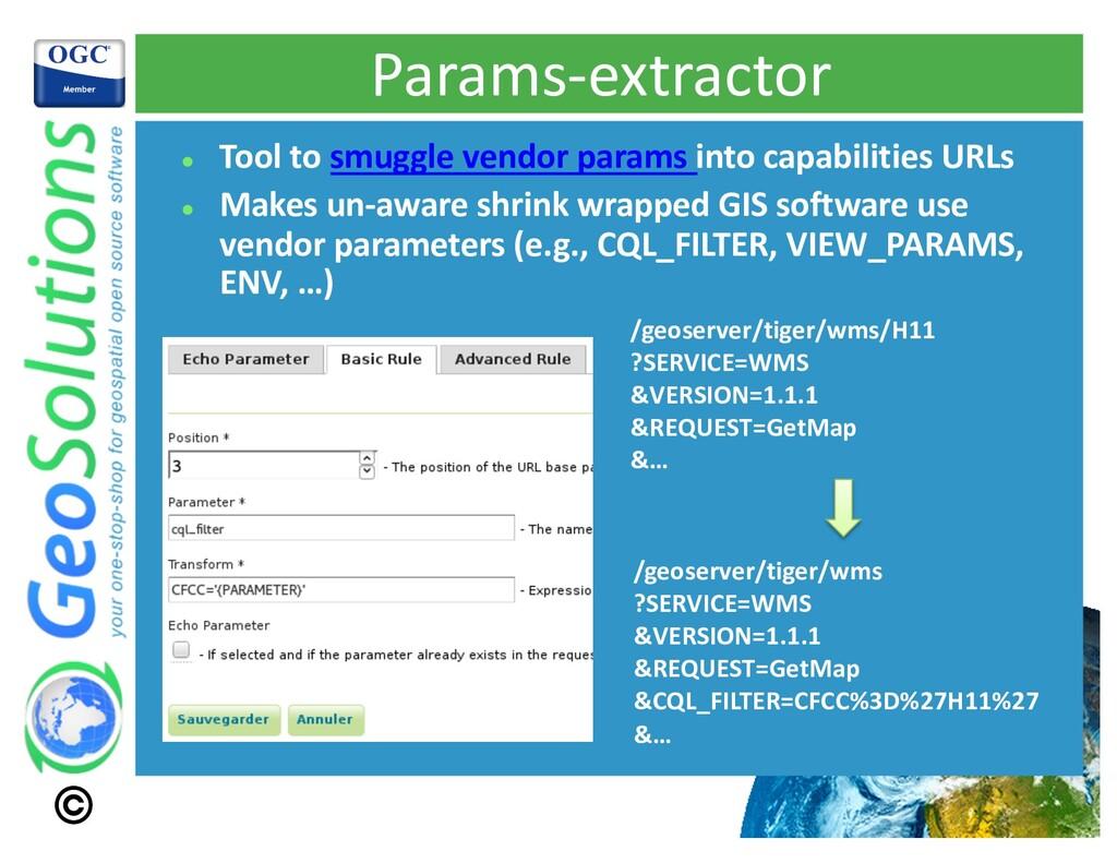 Params-extractor l Tool to smuggle vendor param...