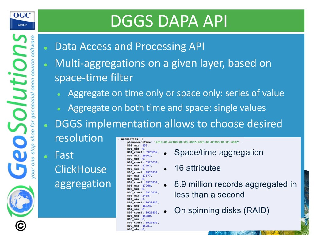 DGGS DAPA API l Data Access and Processing API ...