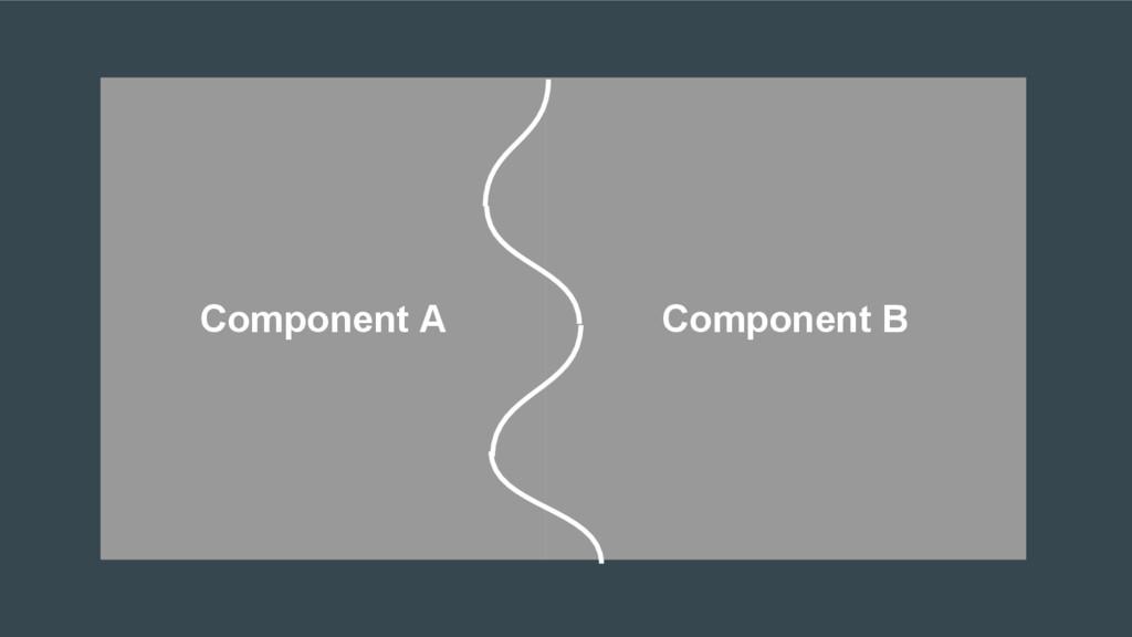 Component A Component B