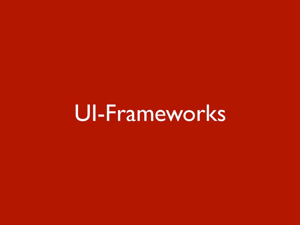 UI-Frameworks