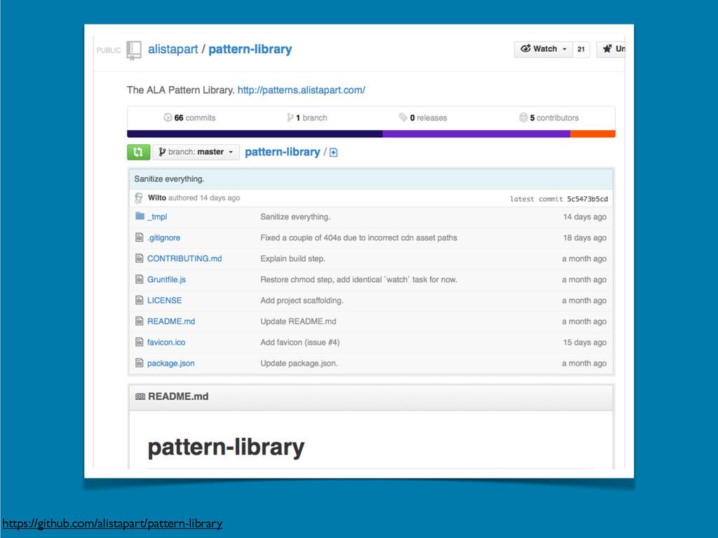 https://github.com/alistapart/pattern-library