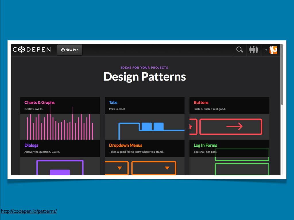 http://codepen.io/patterns/