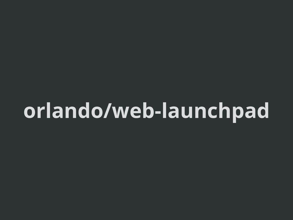 orlando/web-launchpad