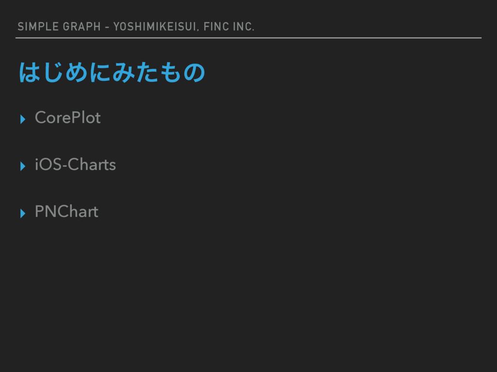 SIMPLE GRAPH - YOSHIMIKEISUI, FINC INC. ͡ΊʹΈͨ...