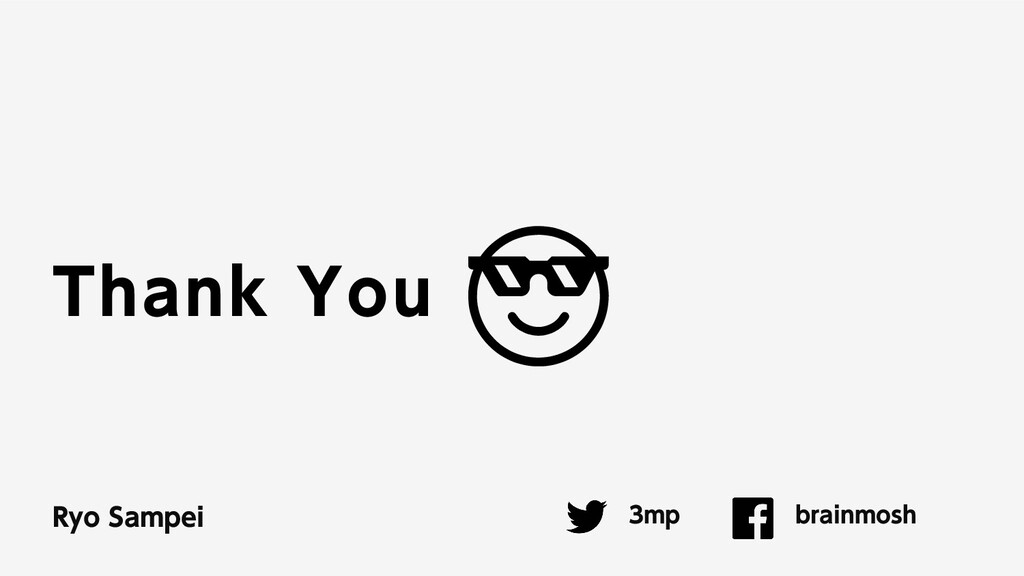 Thank You 3mp brainmosh Ryo Sampei 😎😎
