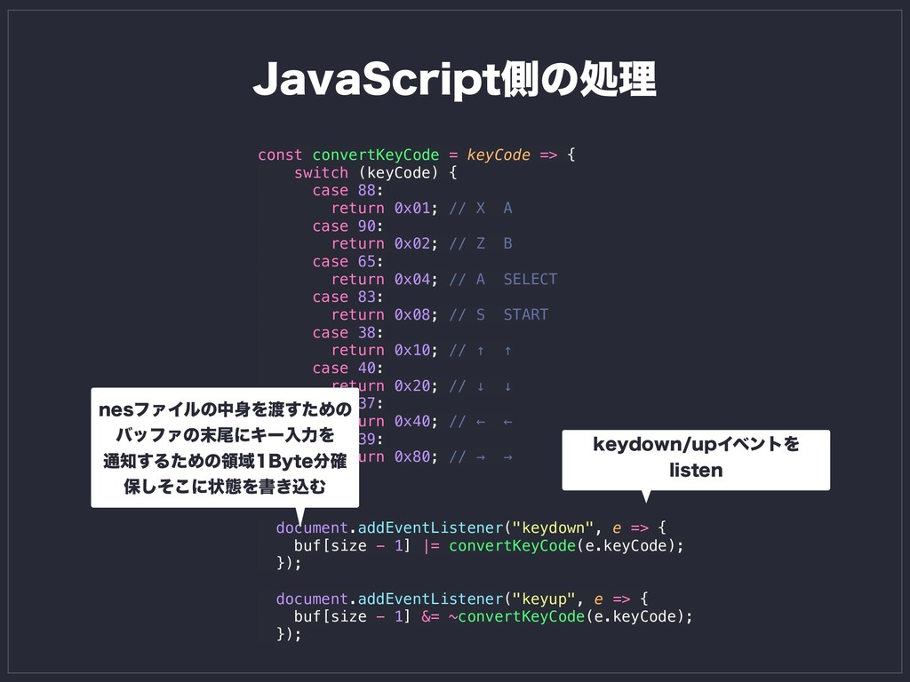 const convertKeyCode = keyCode => { switch (key...