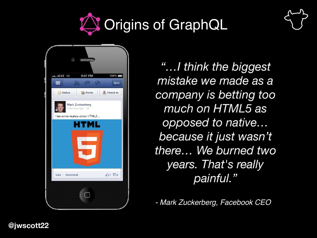 """…I think the biggest mistake we made as a comp..."