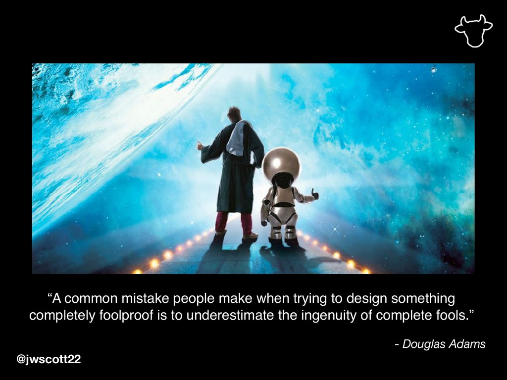 """A common mistake people make when trying to de..."