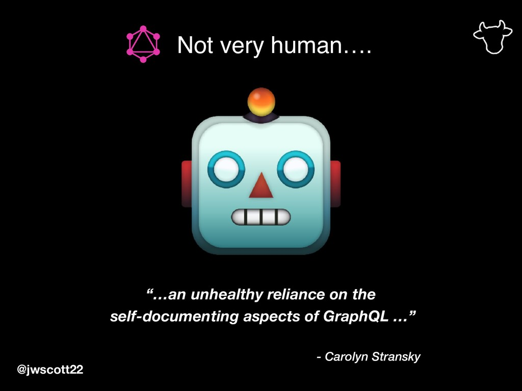 """Not very human…. @jwscott22 """"…an unhealthy reli..."""