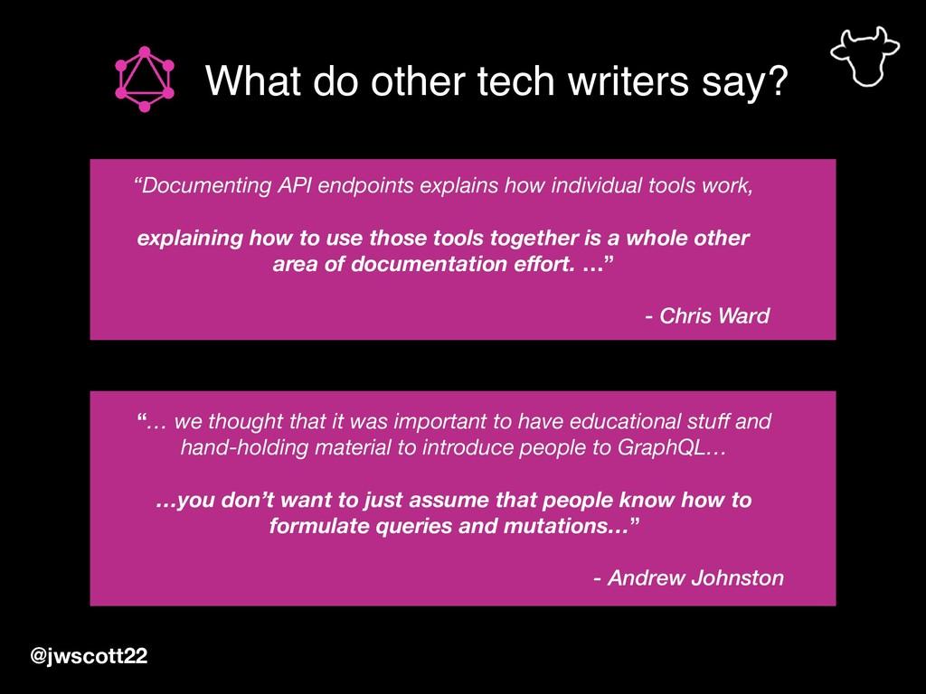 "What do other tech writers say? @jwscott22 ""… w..."