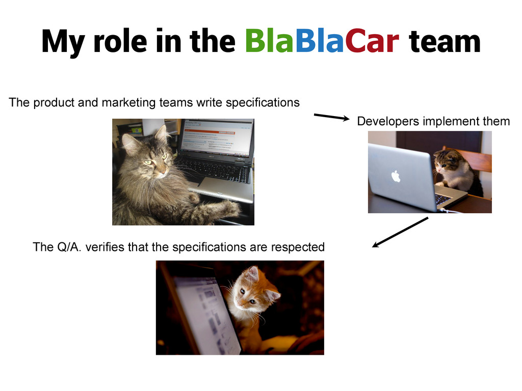 My role in the BlaBlaCar team The product and m...