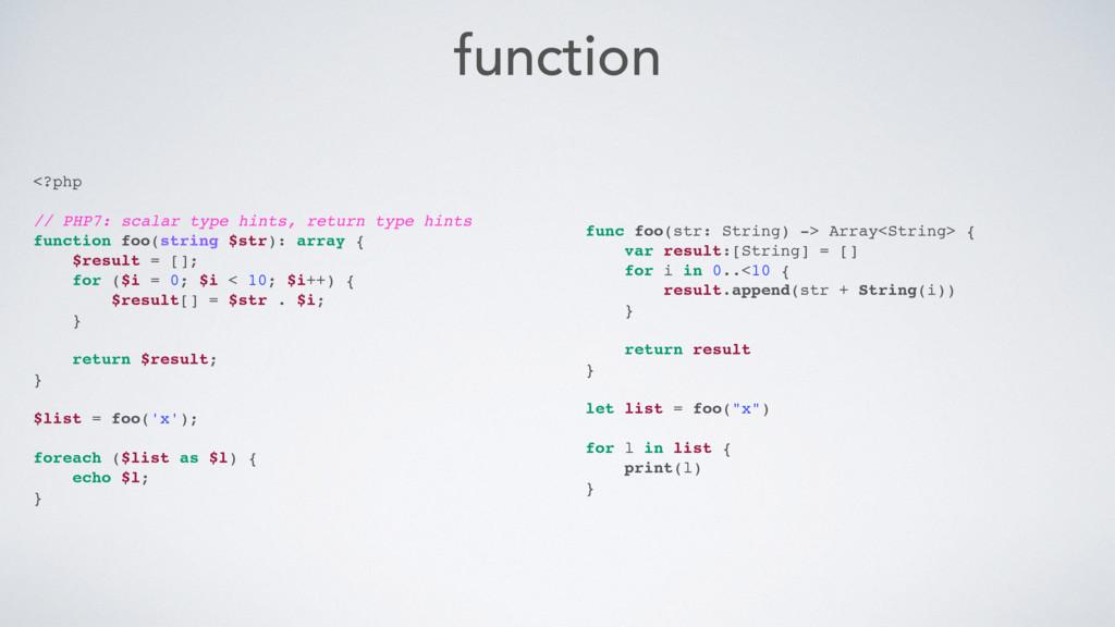function <?php // PHP7: scalar type hints, retu...