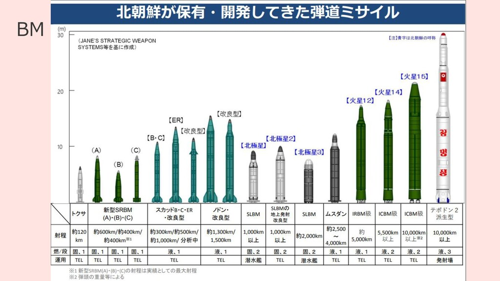 11 BM Viewerとは BM = Ballistic Missile