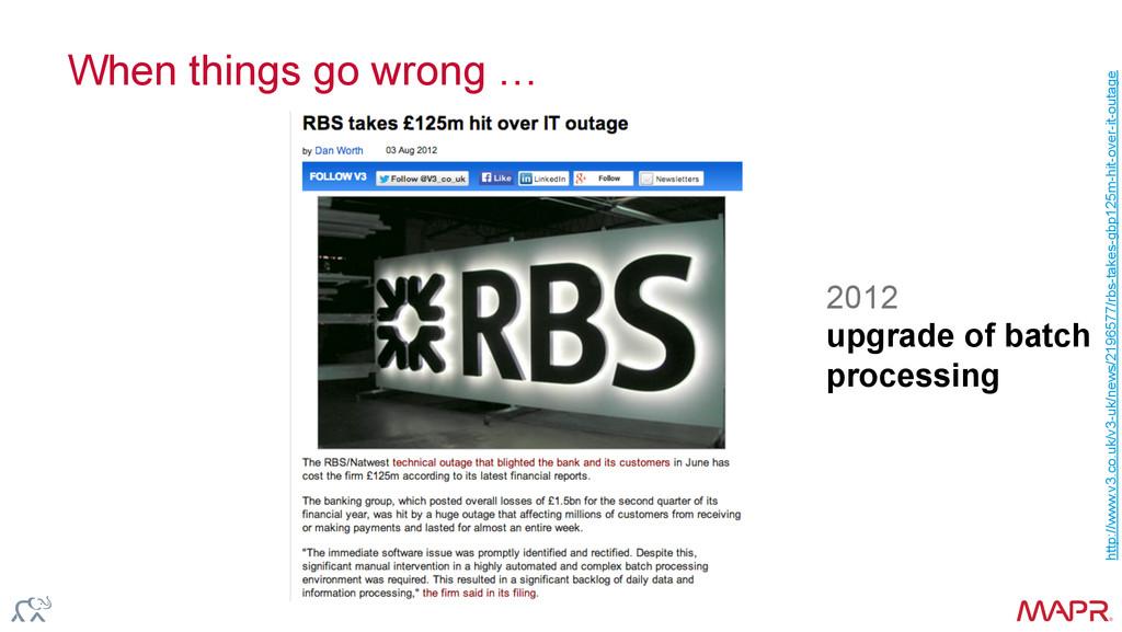 ® When things go wrong … http://www.v3.co.uk/v3...
