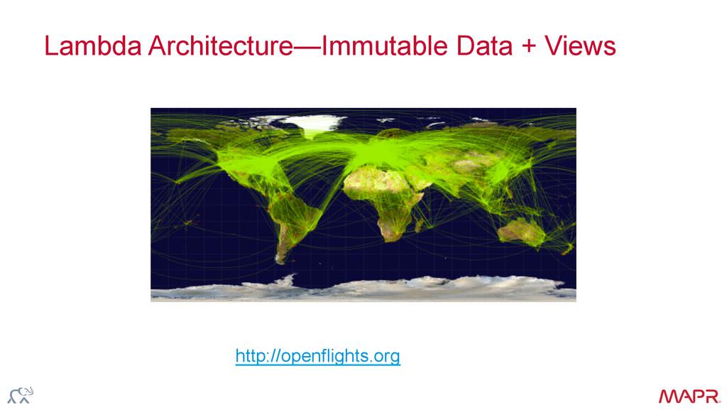 ® Lambda Architecture—Immutable Data + Views ht...