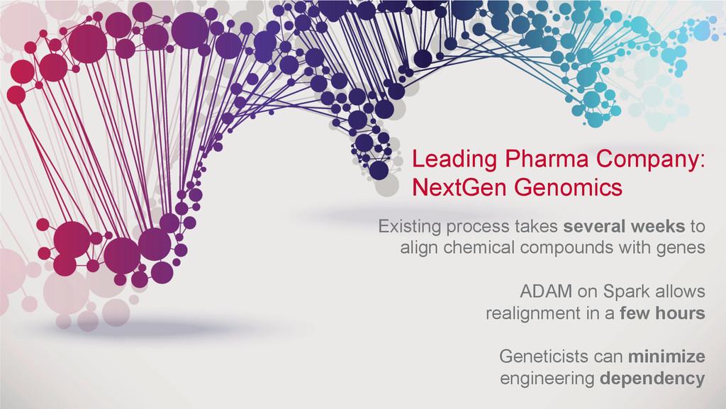 ® Leading Pharma Company: NextGen Genomics Exis...