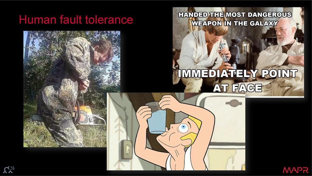 ® Human fault tolerance