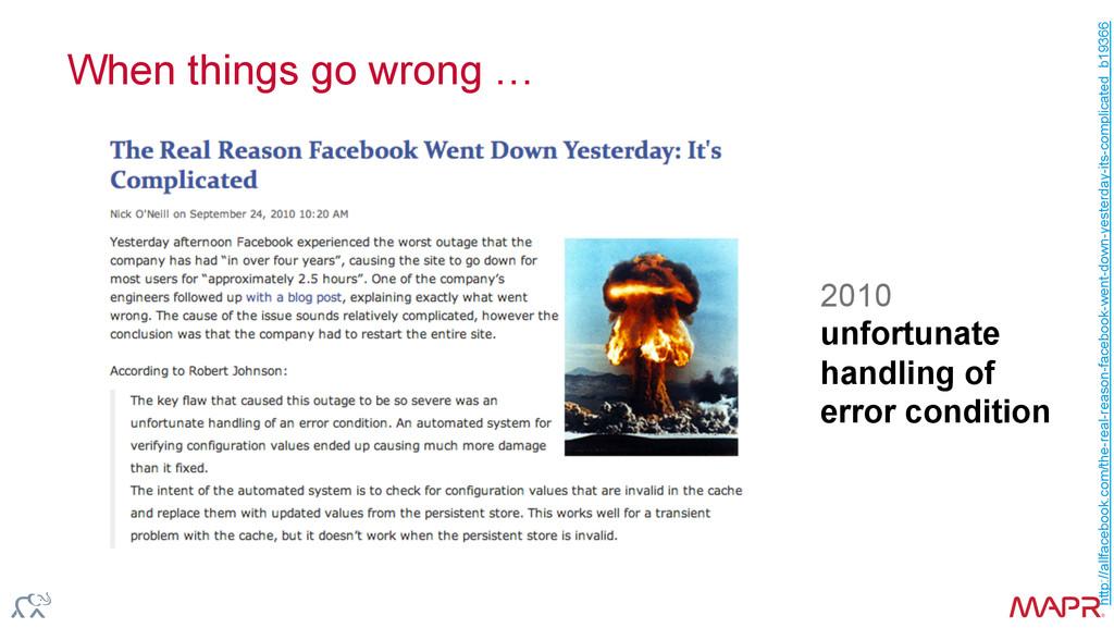 ® When things go wrong … http://allfacebook.com...