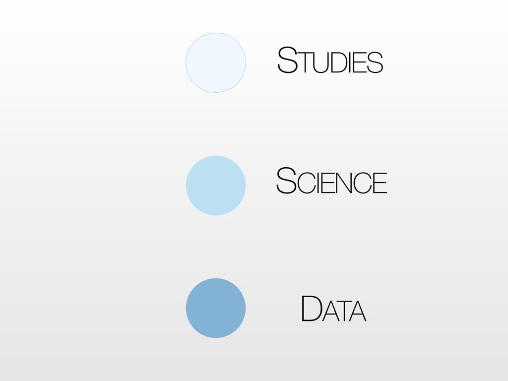 DATA SCIENCE STUDIES