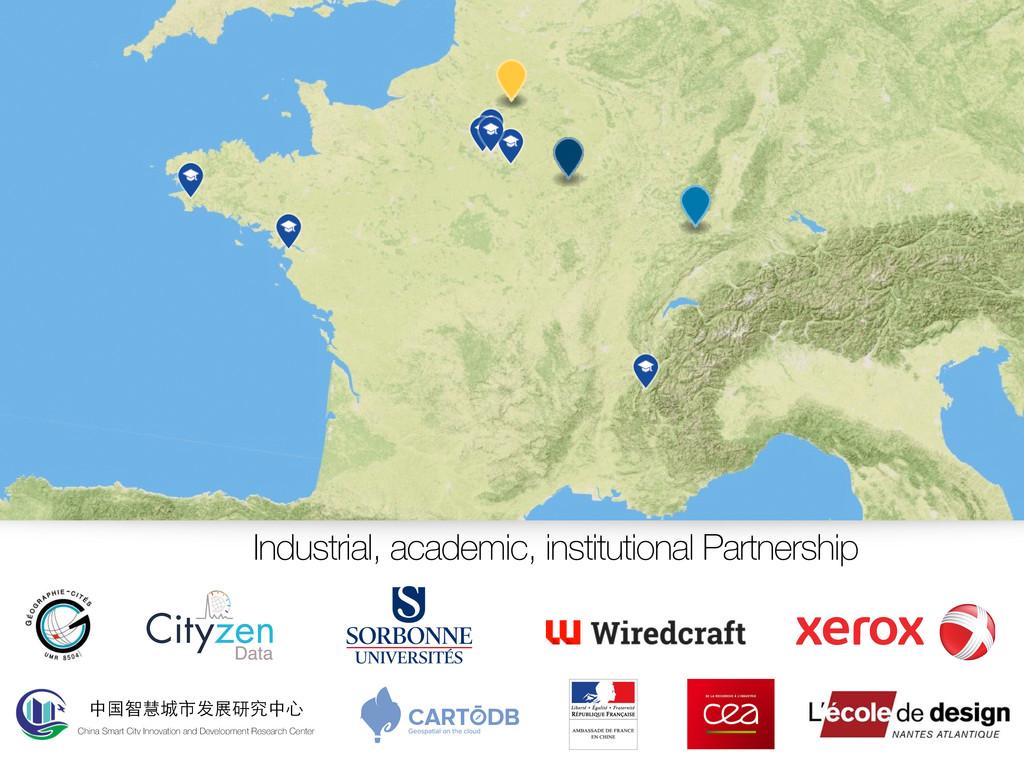 Industrial, academic, institutional Partnership...
