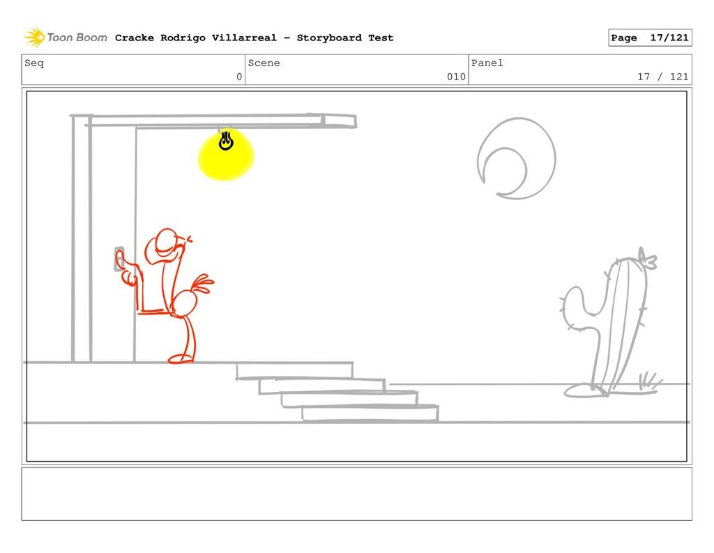 Seq 0 Scene 010 Panel 17 / 121 Cracke Rodrigo V...