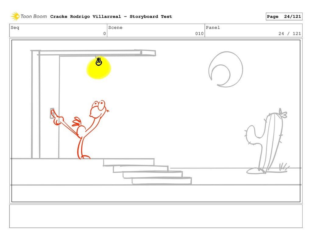 Seq 0 Scene 010 Panel 24 / 121 Cracke Rodrigo V...