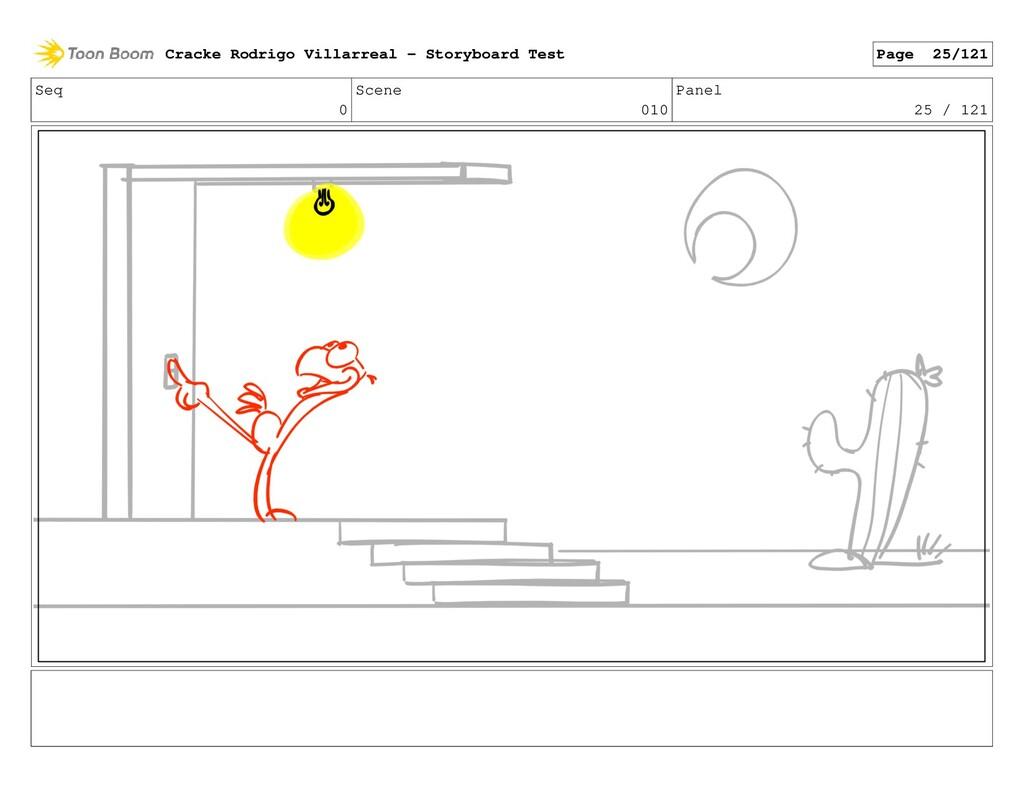 Seq 0 Scene 010 Panel 25 / 121 Cracke Rodrigo V...