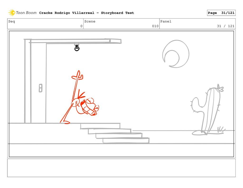 Seq 0 Scene 010 Panel 31 / 121 Cracke Rodrigo V...