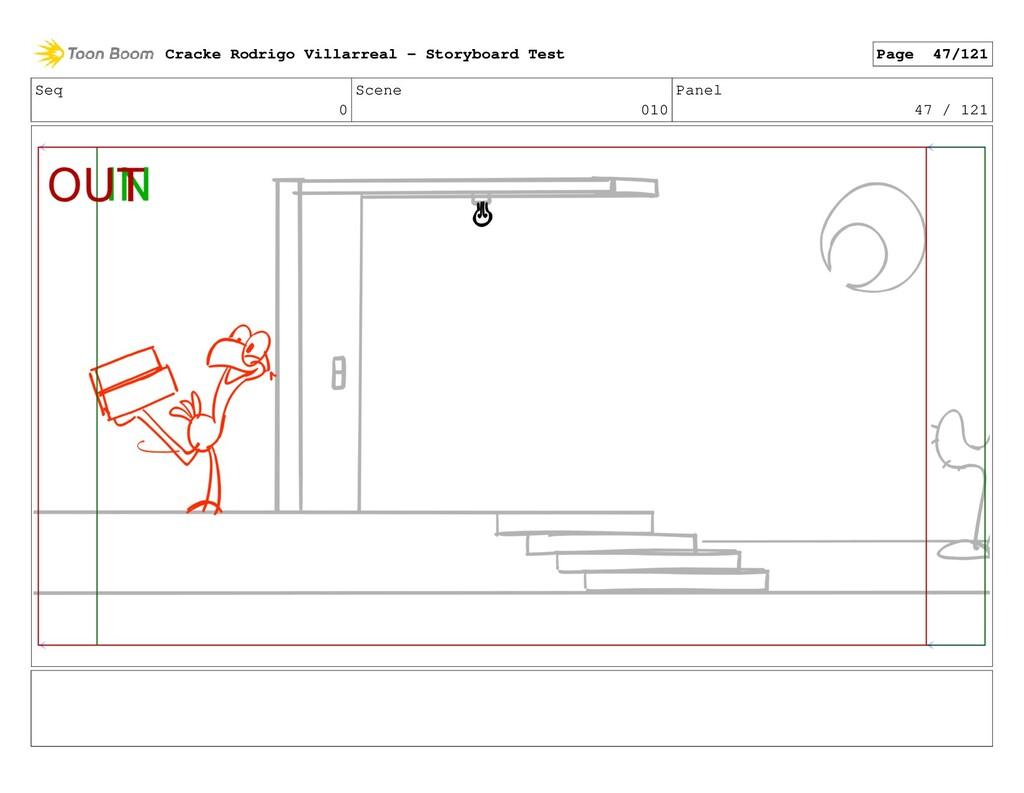 Seq 0 Scene 010 Panel 47 / 121 Cracke Rodrigo V...