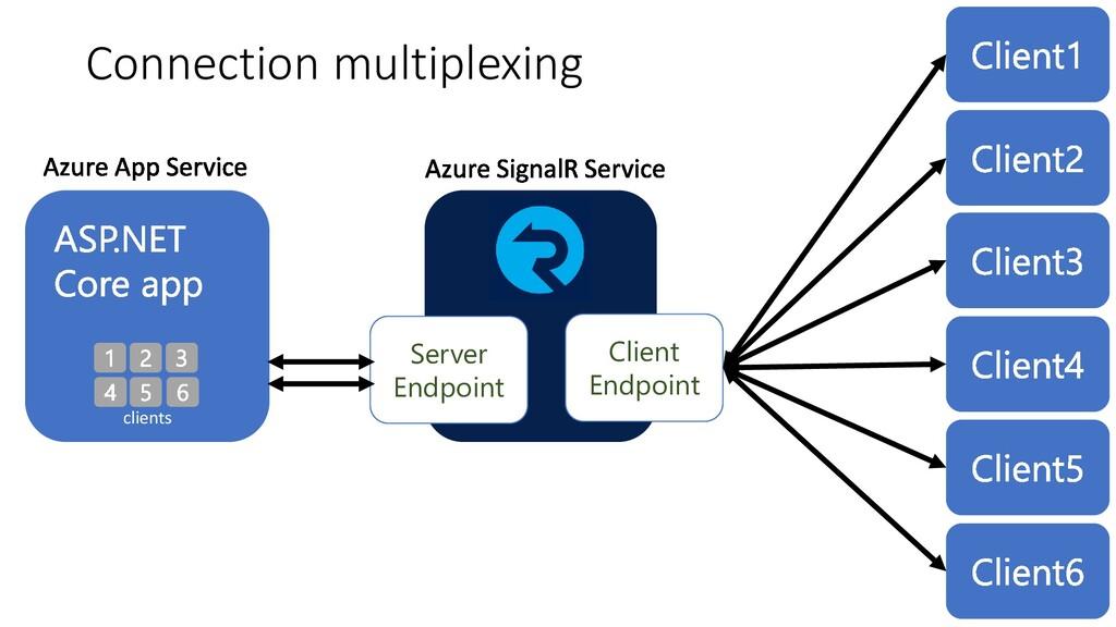 Client Endpoint Server Endpoint Connection mult...