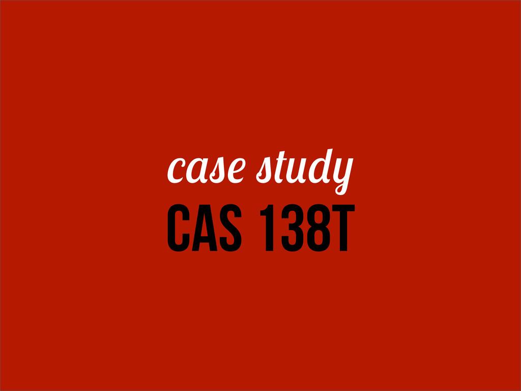 CAS 138T
