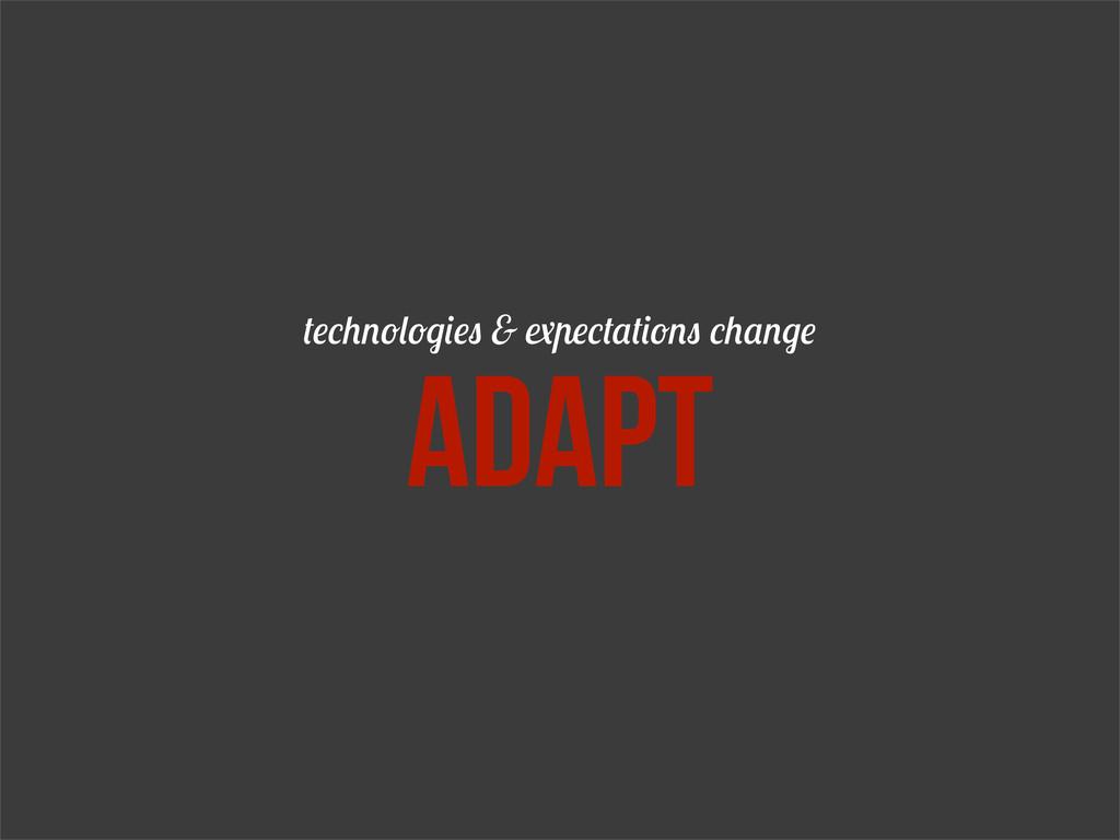 & adapt