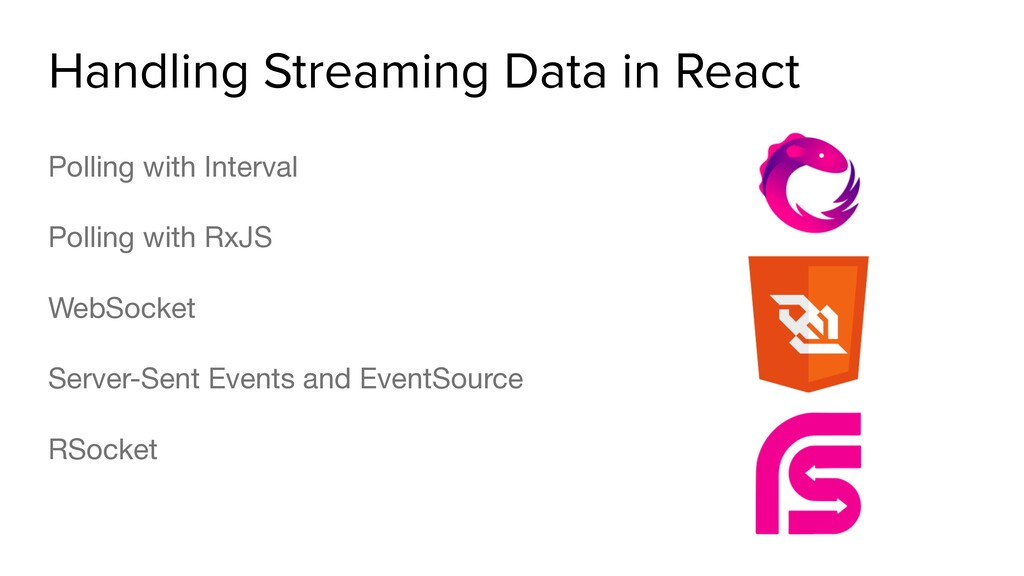 Handling Streaming Data in React Polling with I...