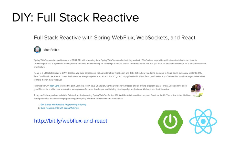 DIY: Full Stack Reactive http://bit.ly/webflux-a...