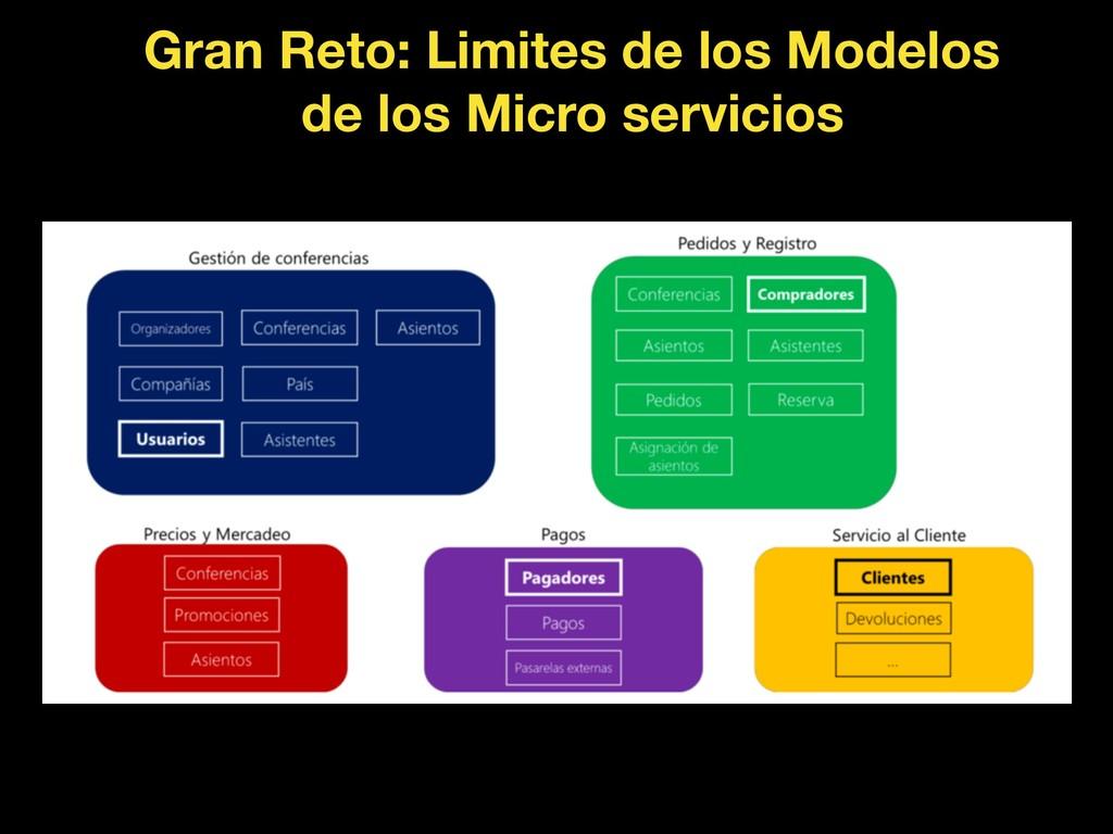 Gran Reto: Limites de los Modelos de los Micro ...