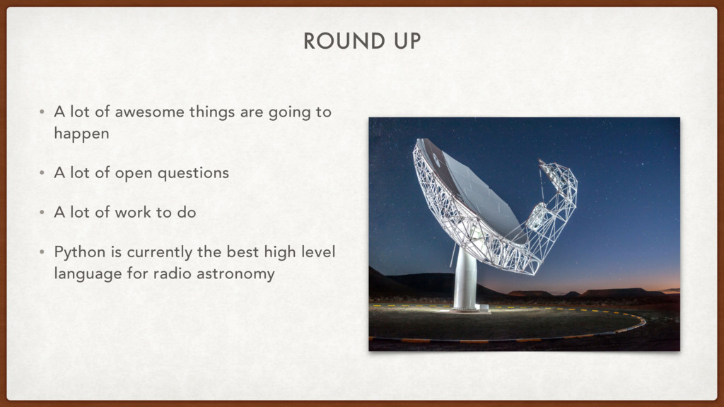 ROUND UP • A lot of awesome things are going to...