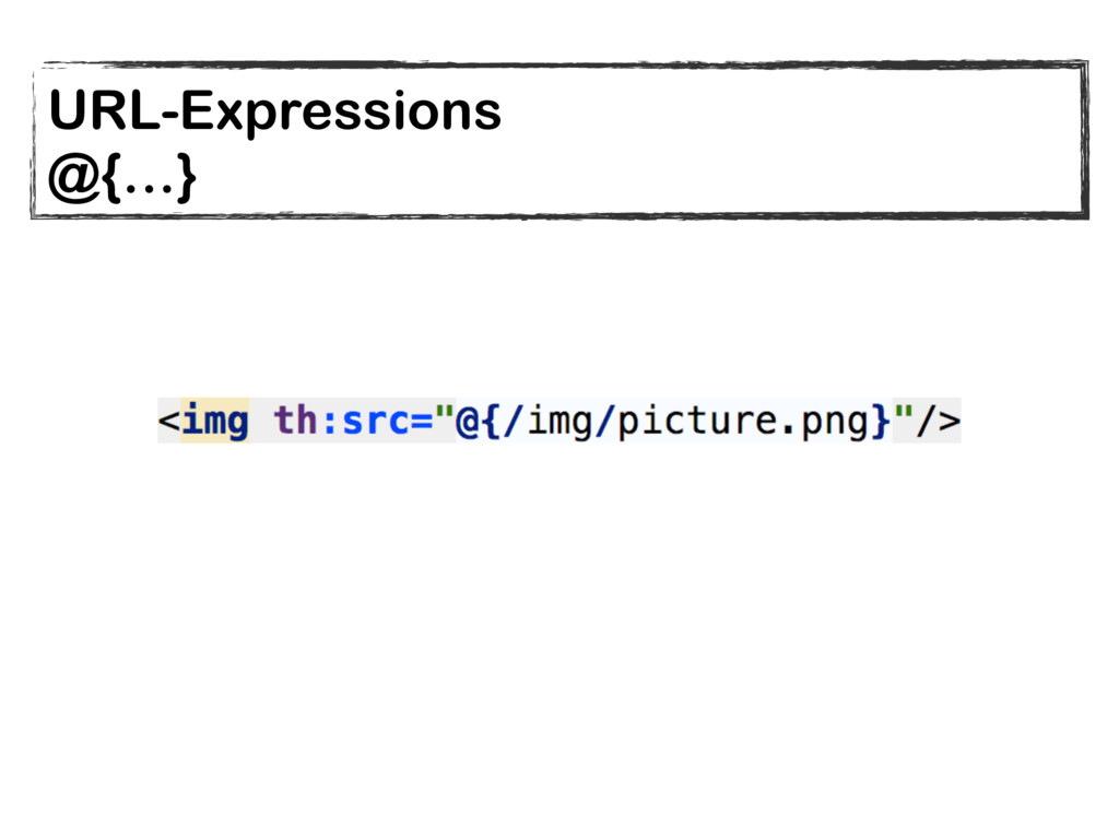 URL-Expressions @{…}