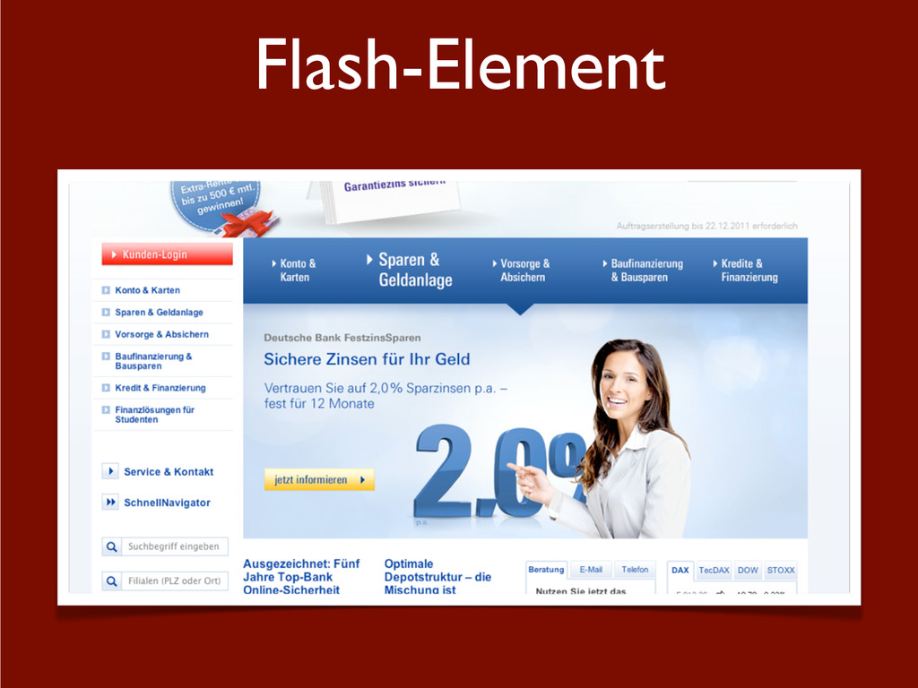 Flash-Element