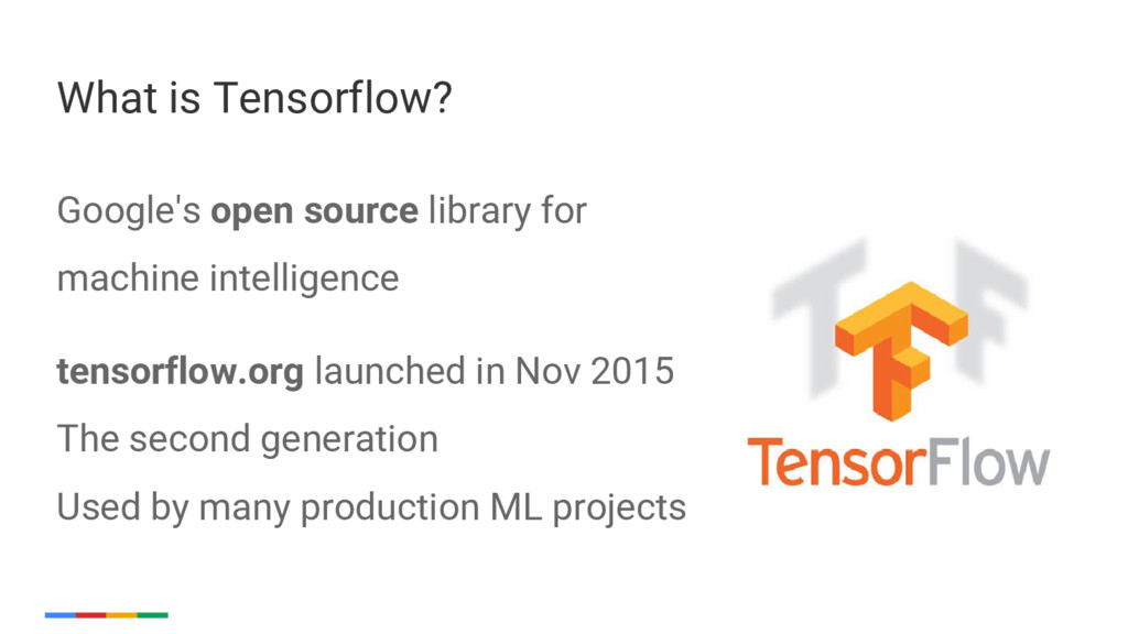 23 Google's open source library for machine int...